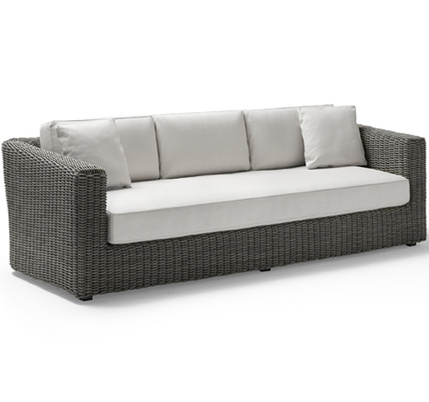 Rattan sofa outdoor  Rattansofa Pure-Raw - Rattan-, Loom- & Korb-Möbel - looms