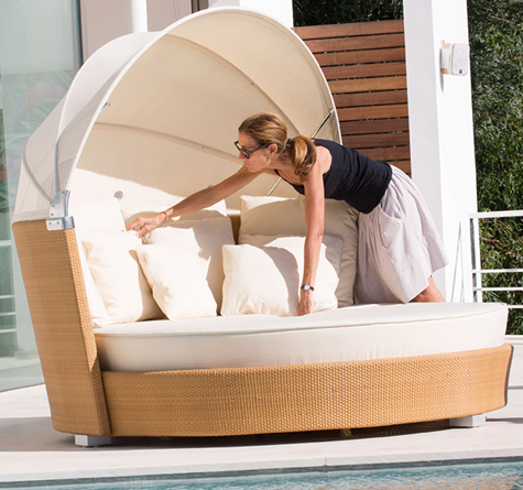rattan sonneninsel romantic rattan loom korb m bel looms. Black Bedroom Furniture Sets. Home Design Ideas