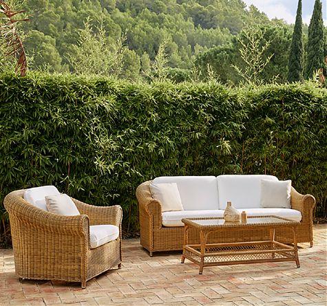 rattan loungem bel klassisch rattan loom korb m bel looms. Black Bedroom Furniture Sets. Home Design Ideas