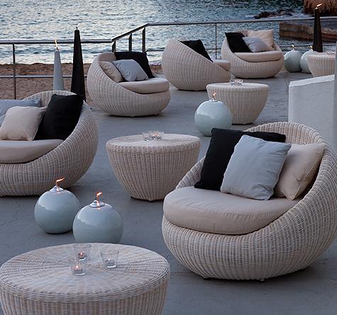 rattan m bel bubble rattan loom korb m bel looms. Black Bedroom Furniture Sets. Home Design Ideas