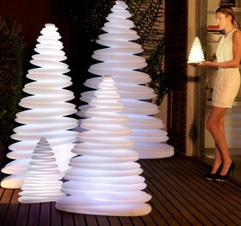 Moderne Weihnachtsbeleuchtung.Weihnachtsbeleuchtung Led Chrismy Rattan Loom Korb Möbel Looms