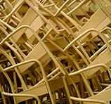 Loom Chair: nicht immer stapelbar ...