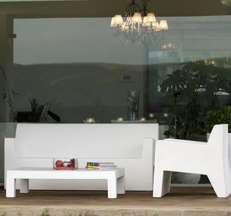 Vondom Jut Lounge Möbel - Rattan-, Loom- & Korb-Möbel - looms