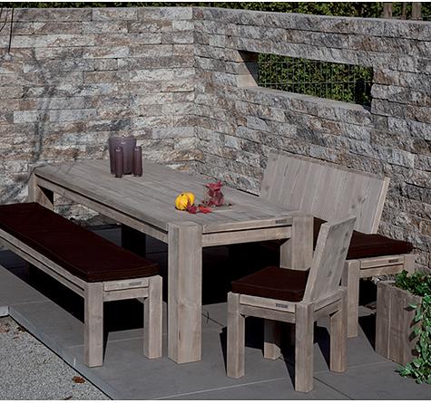 Terrassenmöbel holz massiv modern  ante neo Gartenmöbel aus Holz - Rattan-, Loom- & Korb-Möbel - looms