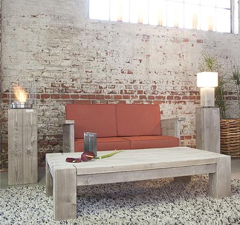 Lounge sofa garten holz  ante neo Lounge Gartenmöbel - Rattan-, Loom- & Korb-Möbel - looms