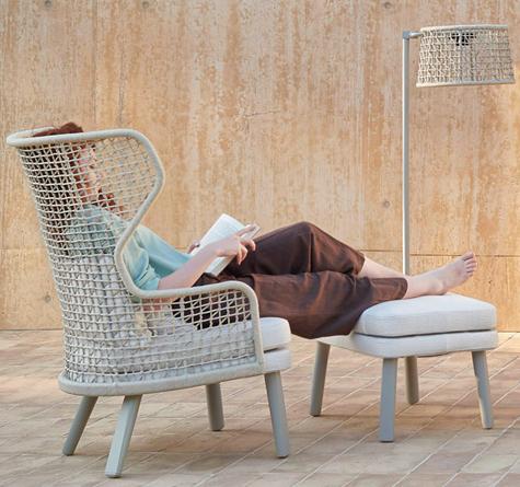design gartenm bel japan lounger rattan loom korb m bel looms. Black Bedroom Furniture Sets. Home Design Ideas