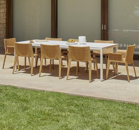 Rattan Gartenmöbel Modern - Rattan-, Loom- & Korb-Möbel - looms