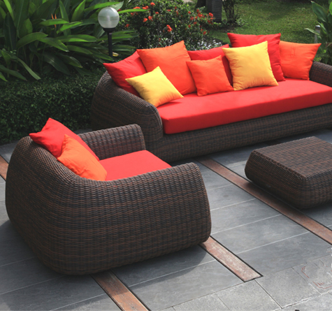 rattan outdoor lounge mango out rattan loom korb m bel looms. Black Bedroom Furniture Sets. Home Design Ideas