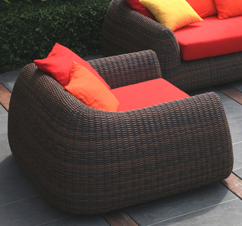 rattan outdoor lounge mango out - rattan-, loom- & korb-möbel - looms, Terrassen ideen