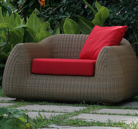 Rattanmöbel outdoor  Rattan Outdoor Lounge Mango OUT - Rattan-, Loom- & Korb-Möbel - looms