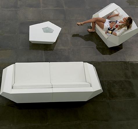 Gartenmöbel design  Designer Gartenmöbel Vondom FAZ - Rattan-, Loom- & Korb-Möbel - looms