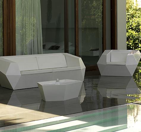 Designer Gartenmöbel Vondom FAZ - Rattan-, Loom- & Korb-Möbel - looms