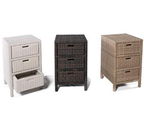 Schränke - Rattan-, Loom- & Korb-Möbel - looms