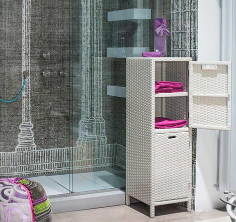 rattanschrank cabinet inout rattan loom korb m bel. Black Bedroom Furniture Sets. Home Design Ideas