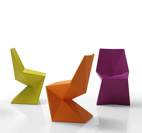Origami Möbel vondom vertex gartenmöbel rattan loom korb möbel looms