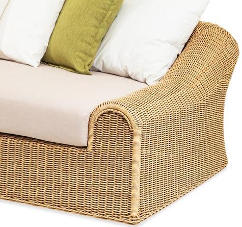 Lounge sofa rattan  Rattan Loungemöbel Klassisch - Rattan-, Loom- & Korb-Möbel - looms
