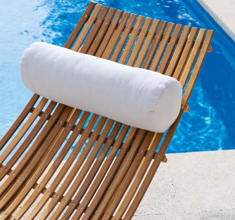 unopi swing teak sonnenliege rattan loom korb m bel looms. Black Bedroom Furniture Sets. Home Design Ideas