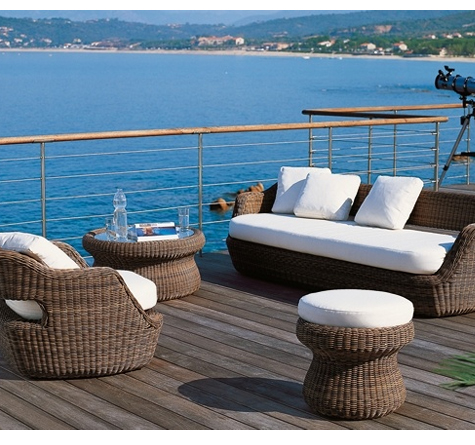 loungem bel outdoor rattan. Black Bedroom Furniture Sets. Home Design Ideas