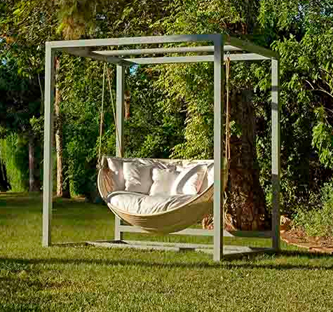 rattan hanging lounger armadillo rattan loom korb m bel looms. Black Bedroom Furniture Sets. Home Design Ideas