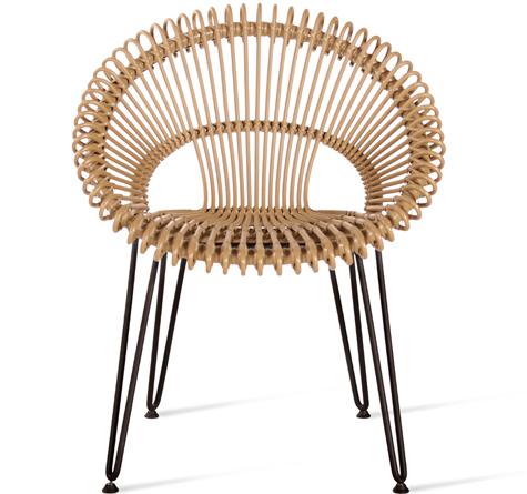 Rattan Stühle Roxy - Rattan-, Loom- & Korb-Möbel - looms