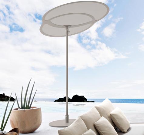 Design Sonnenschirme sonnen schirme rattan loom korb möbel looms