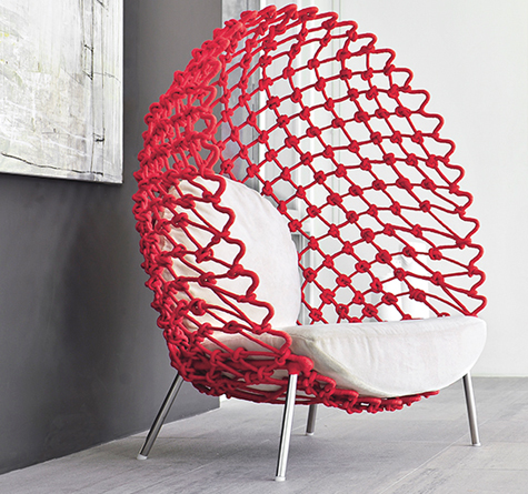 Lounge Chair Dragnet - Rattan-, Loom- & Korb-Möbel - looms