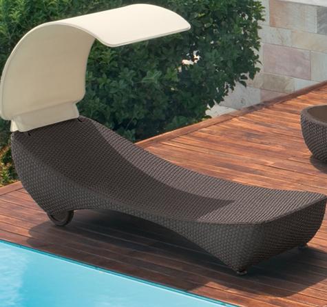 loom sonnenliege saint tropez rattan loom korb m bel looms. Black Bedroom Furniture Sets. Home Design Ideas