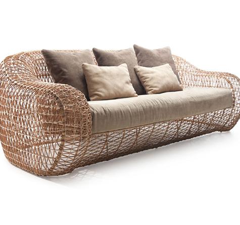 Rattan sofa m bel einebinsenweisheit Rattan sofa gebraucht