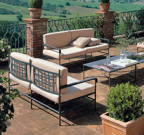 Eisen Gartenmöbel Toscana - Rattan-, Loom- & Korb-Möbel ...