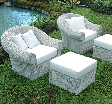 Rattan sofa garten  Rattan Loungemöbel Klassisch - Rattan-, Loom- & Korb-Möbel - looms