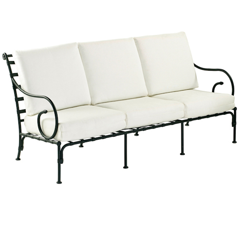 Möbel Eisen geschmiedet: Kross - Rattan-, Loom- & Korb-Möbel - looms