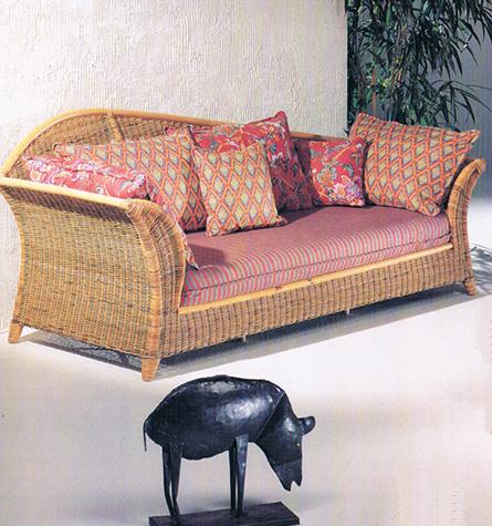 Korbsofa Deco - Rattan-, Loom- & Korb-Möbel - looms
