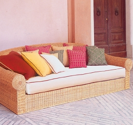schlafsofas rattan loom korb m bel looms. Black Bedroom Furniture Sets. Home Design Ideas