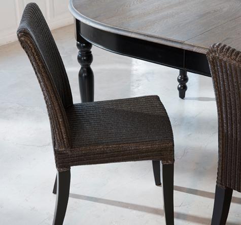 lloyd loom st hle melissa rattan loom korb m bel. Black Bedroom Furniture Sets. Home Design Ideas