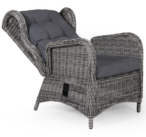 outdoor lounge lawrence highback rattan loom korb. Black Bedroom Furniture Sets. Home Design Ideas