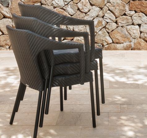 korbm bel sessel caddie rattan loom korb m bel looms. Black Bedroom Furniture Sets. Home Design Ideas