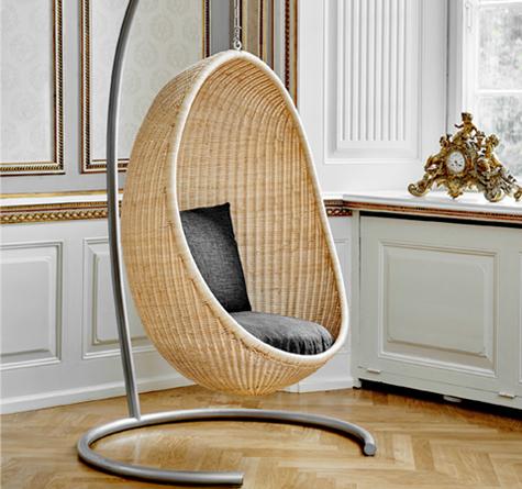 rattan h ngekorb egg rattan loom korb m bel looms. Black Bedroom Furniture Sets. Home Design Ideas