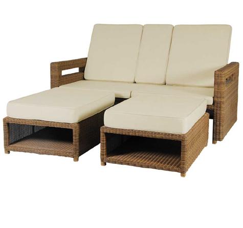 rattan liege san marino lovers rattan loom korb. Black Bedroom Furniture Sets. Home Design Ideas