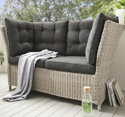 rattan loungem bel klassisch rattan loom korb m bel. Black Bedroom Furniture Sets. Home Design Ideas