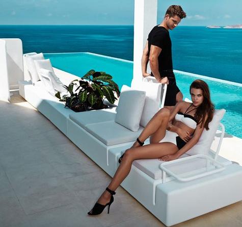 design gartenm bel lounge kes rattan loom korb m bel looms. Black Bedroom Furniture Sets. Home Design Ideas