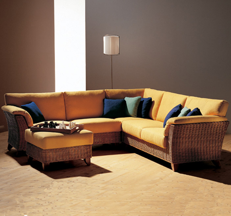 rattan ecksofa amerigo rattan loom korb m bel looms. Black Bedroom Furniture Sets. Home Design Ideas