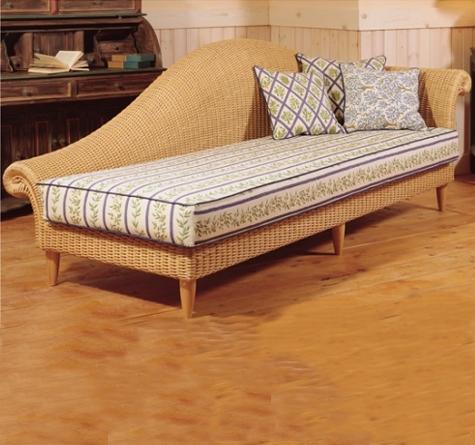 recamiere landhausstil rattan recamiere vivaldi rattan. Black Bedroom Furniture Sets. Home Design Ideas