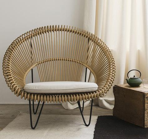rattan sessel cruz cocoon rattan loom korb m bel looms. Black Bedroom Furniture Sets. Home Design Ideas