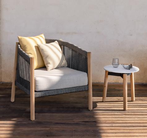 lloyd loom bistrotisch jersey rattan loom korb m bel looms. Black Bedroom Furniture Sets. Home Design Ideas