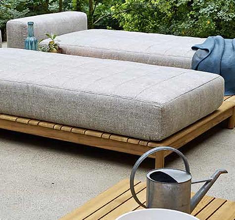 teak daybed barcode rattan loom korb m bel looms. Black Bedroom Furniture Sets. Home Design Ideas