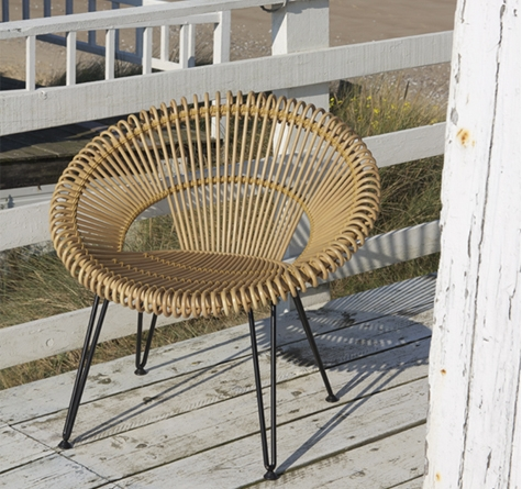 Rattan Loungemöbel Modern - Rattan-, Loom- & Korb-möbel - Looms Romantische Gartenmobel Korbstil