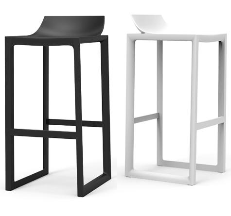 design outdoorm bel wall street barhocker rattan loom. Black Bedroom Furniture Sets. Home Design Ideas