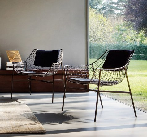 designer outdoor lounge sessel summerset rattan loom korb m bel looms. Black Bedroom Furniture Sets. Home Design Ideas