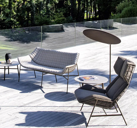 Designer outdoor lounge sessel summerset rattan loom korb m bel looms - Gartenmobel design lounge ...