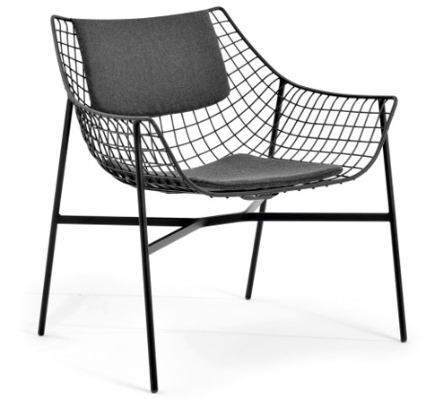 designer outdoor lounge sessel summerset rattan loom. Black Bedroom Furniture Sets. Home Design Ideas
